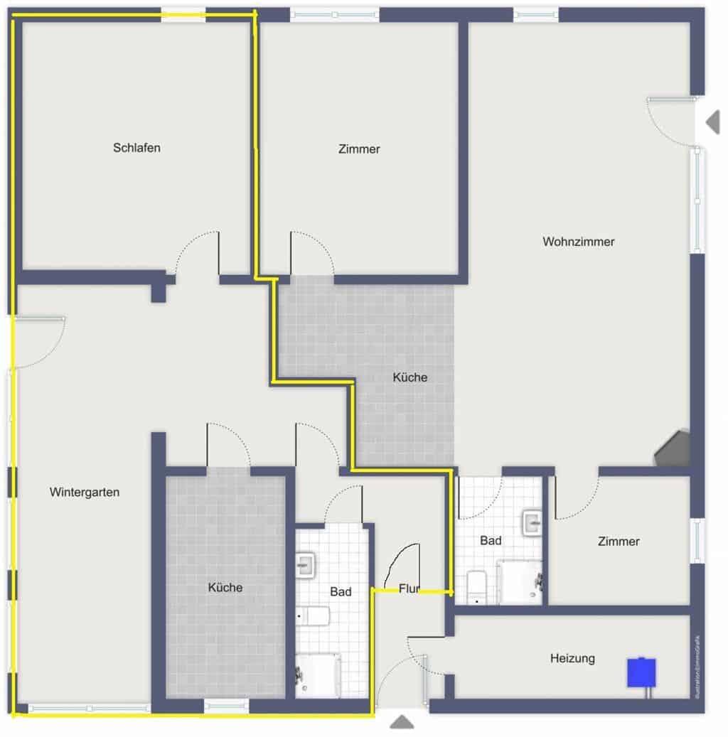 1828 LooseImmo Grundriss neu ohne Möbel